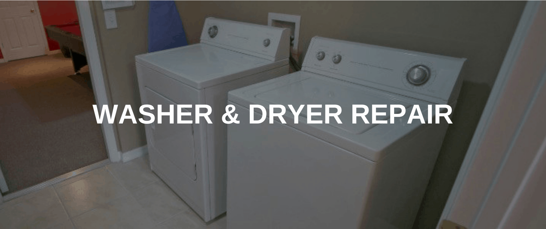washing machine repair centreville